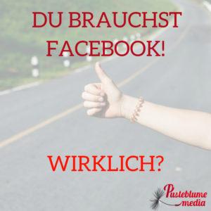 Brauche ich facebook?-Personenmarke-pusteblumemedia