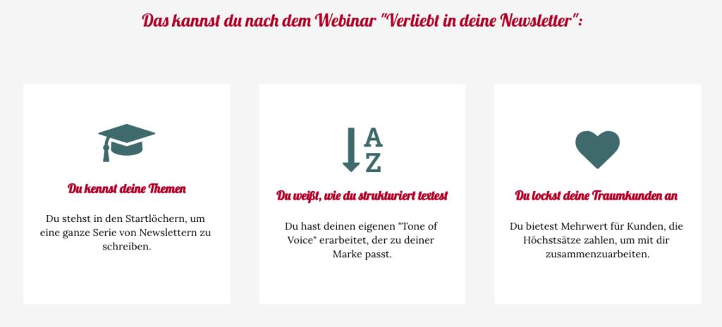 Newsletter Webinar